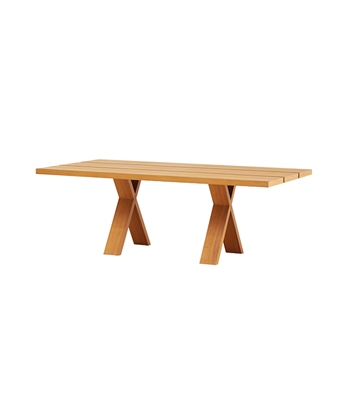 Light Wooden Dining Table
