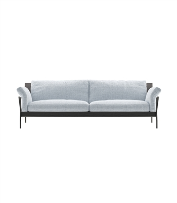 Grey/Black Couch