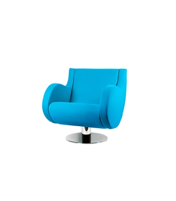 Retro Blue Chair